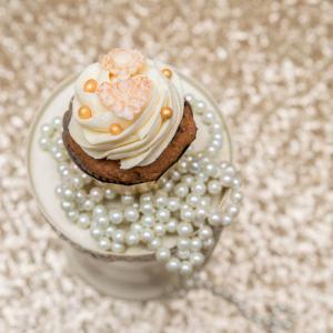 Cupcakes Elegant Pearls