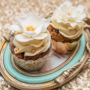 Cupcake Elegant Flower