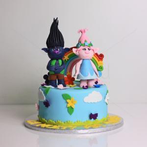 Tort Troli colorati