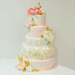 Tort Eleganta Bujorilor