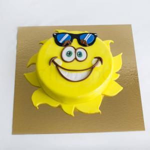 Tort Soare cu ochelari