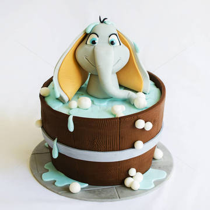 Tort Dumbo in baie