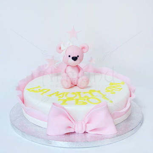 Tort Ursulet roz fetita
