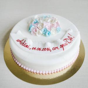 Tort elegant Cununie