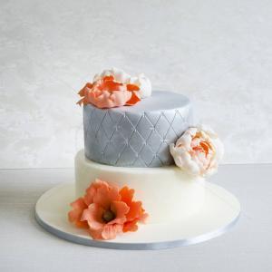 Tort nunta Bujori somon