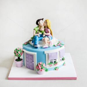 Tort Casuta cu indragostiti