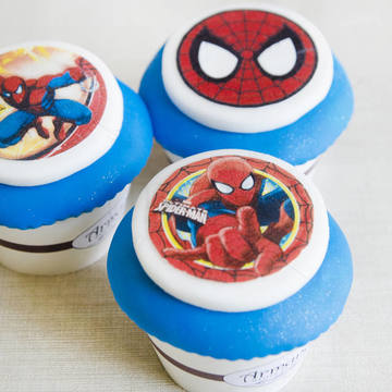 Cupcake Spiderman 1