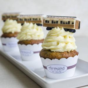 Cupcakes Locomotiva Orient Expres