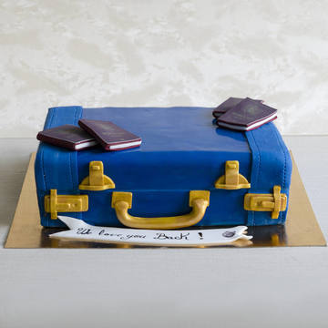 Tort Valiza si pasapoarte