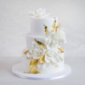 Tort de nunta Pure Gold
