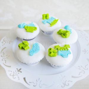Cupcakes Botez baietel