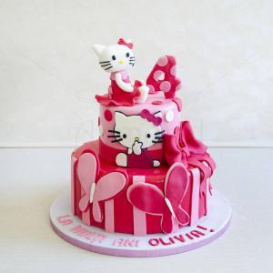 Tort Hello Kitty Fuchsia