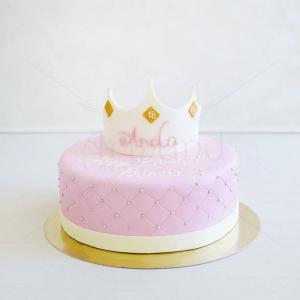 Tort Majorat Coronita printesa