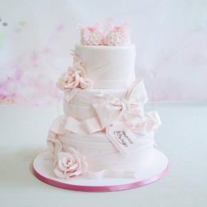 Tort Botosei si floricele