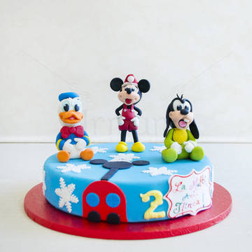 Tort Mickey, Donald si Gooffy