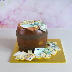 Tort Butoi plin cu bani