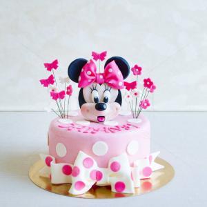 Tort Figurina Minnie Mouse