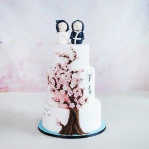 Tort Flori de cires - Micii Japonezi
