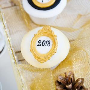 Cupcakes Aniversare revelion