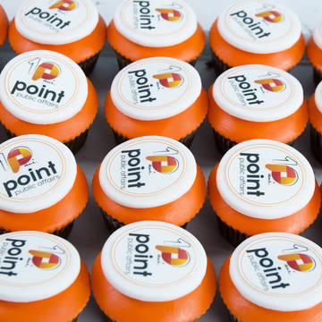 Cupcakes Logo Point Public Affairs