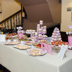 Candy Bar Carusel Roz Lila