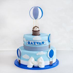 Tort Botez Baloane Albastre