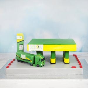 Tort Benzinarie si Camion