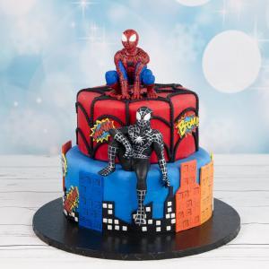 Tort pentru copii Figurine Spiderman