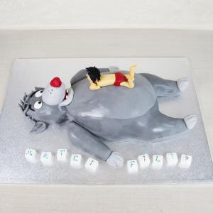 Tort 3D Baloo si Mowgli