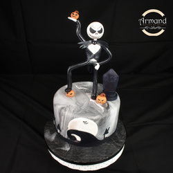 Tort Jack Skellington Halloween
