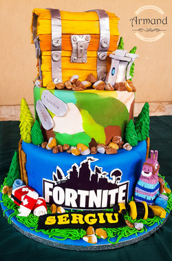 Tort Fortnite 2 etaje