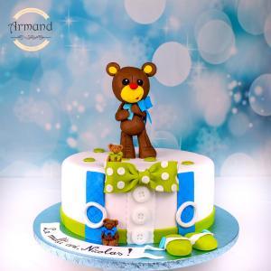 Tort Teddy bear