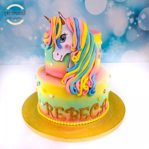 Tort Pony curcubeu