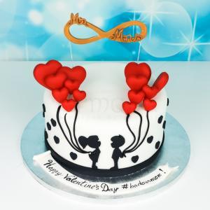 Tort Valentine's Day Mr&Mrs