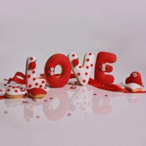 """Biscuiti """"LOVE"""""""