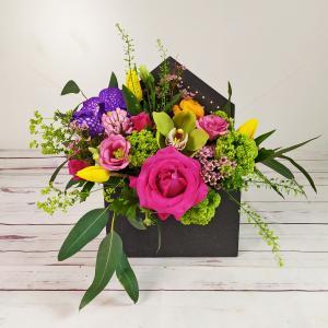 Aranjament floral Joc de Culori