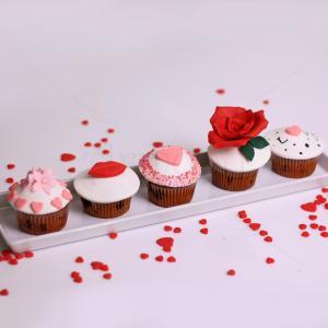 "Colectie cupcakes ""Love"""