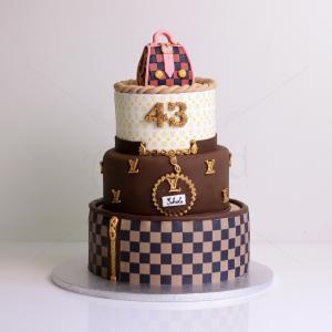 Tort elegant poseta