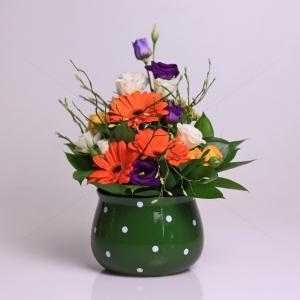 Aranjament floral Primavara Calda