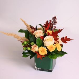 Aranjament floral Culoare si catifea