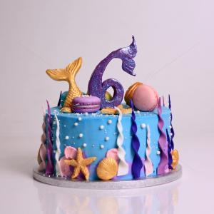 Tort little mermaid