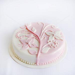 Tort Floral roz
