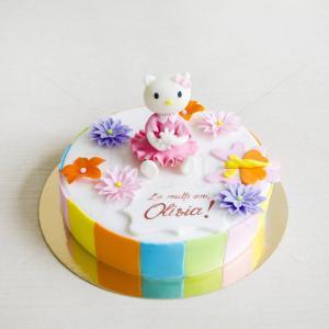 Tort Hello Kitty figurina 2