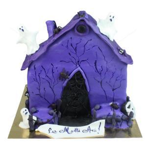 Tort Halloween Casa bantuita