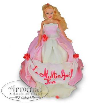 Tort Papusa Barbie 2