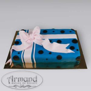 Tort Cadou albastru