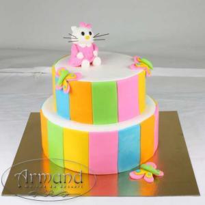 Tort Hello Kitty colorat
