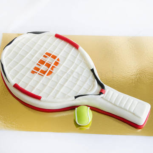 Tort Racheta tenis alba