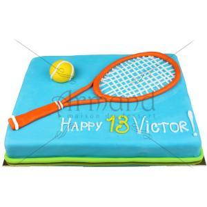 Tort Racheta tenis portocalie