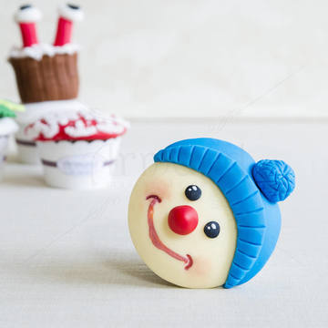 Cupcake Caciulita Albastra